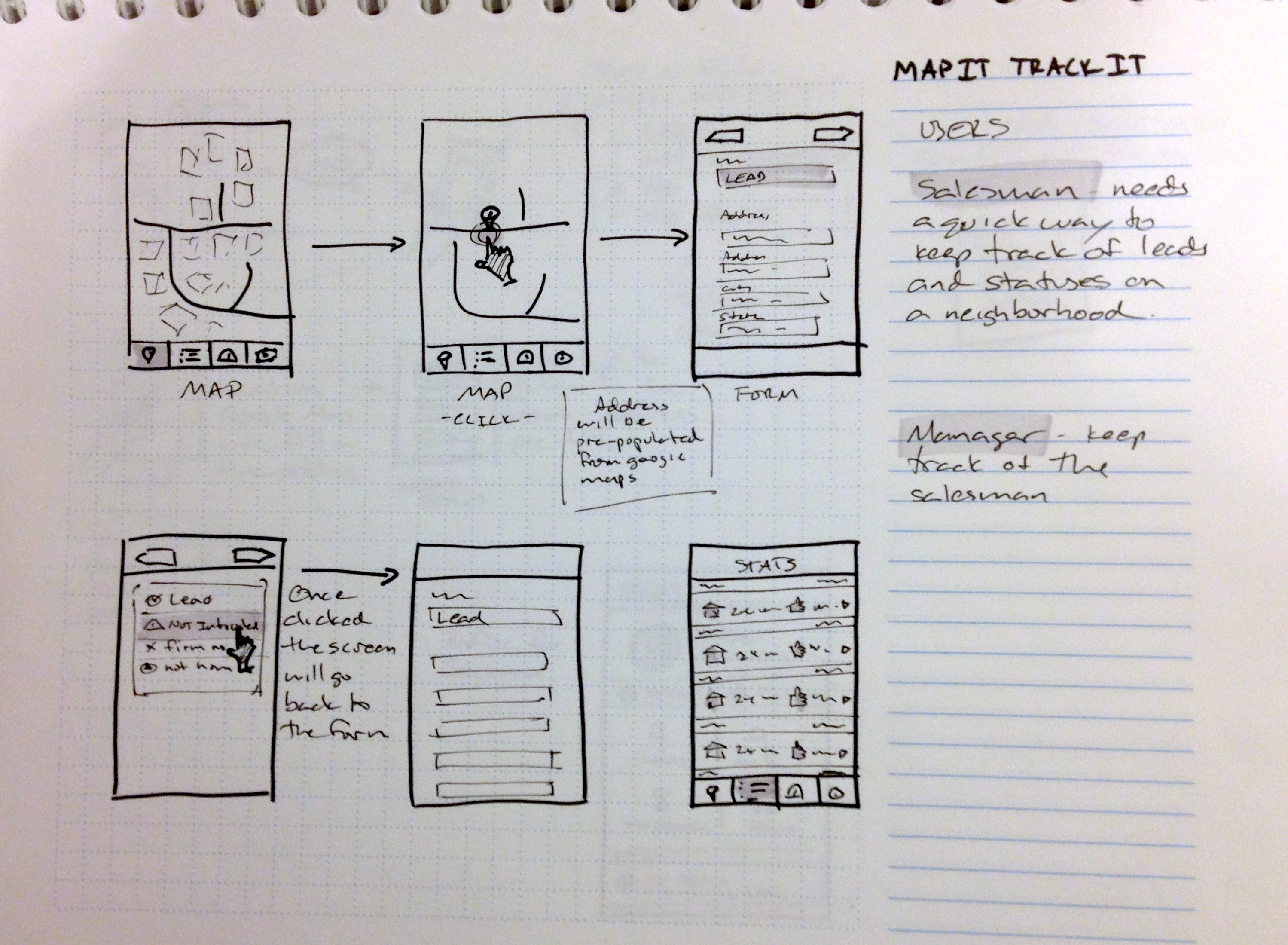 Map It Track It – Tony Naccarato